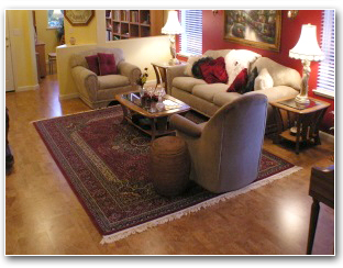 Client Testimonials of Gillespie's Abbey Carpet & Floor in Farfield, CA.