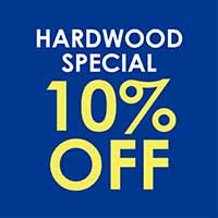Hardwood 10% OFF  Naturally Aged  Made in America