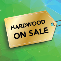 Hardwood floors on sale starting from $4.99 sq. ft. at Gillespie's Carpet & Floor